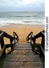 σκάλεs , παραλία