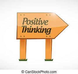 σκεπτόμενος , θετικός , γενική ιδέα , βαρέλι αναχωρώ