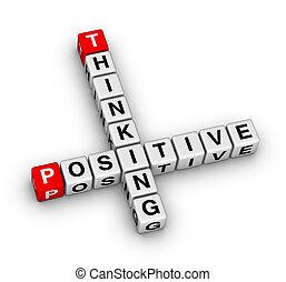 σκεπτόμενος , θετικός