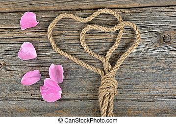 σκοινί , ανατέλλω ανθόφυλλο , αγάπη