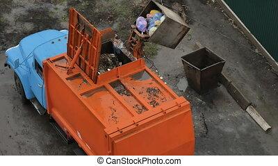 σκουπίδια , μεταφορά , αυτοκίνητο , φόρτωση , itself