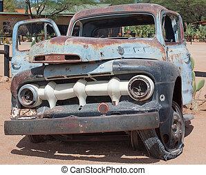 σκουριασμένος , αυτοκίνητο