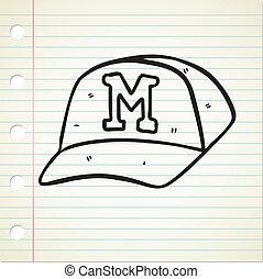 σκούφοs , μπέηζμπολ