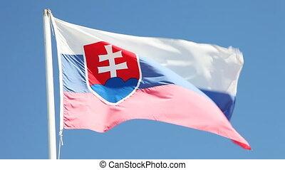 σλοβάκος , σημαία
