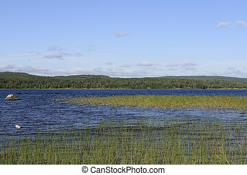 σουηδία , λίμνη