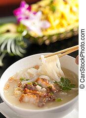 σούπα , thai , χοιρινό