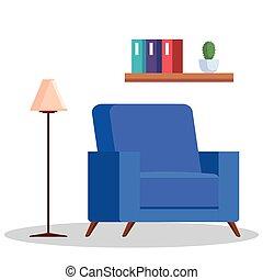 σπίτι , δωμάτιο , καναπέs , γλώσσα , ζούμε