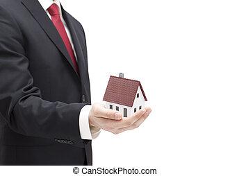 σπίτι , επιχειρηματίας , μινιατούρα