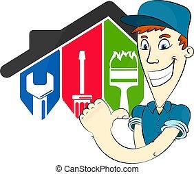 σπίτι , εργαλείο , repairman