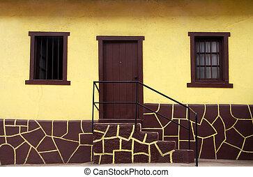 σπίτι , κίτρινο