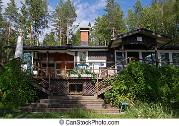 σπίτι στο βουνό