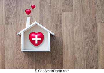 σπίτι , υγεία , γλυκός , σπίτι , ιατρική περίθαλψη , και , φάρμακο