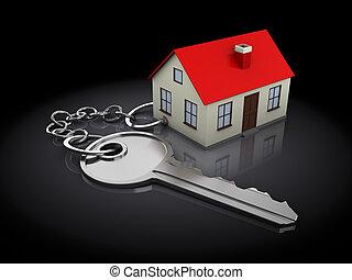 σπίτι , keychain