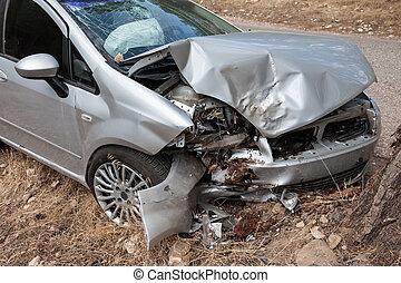 σπασμένος , αυτοκίνητο