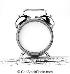 σπασμένος , ρολόι