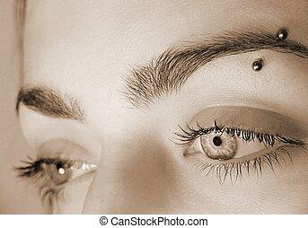 σπουδαίος , μάτια