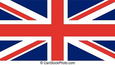 σπουδαίος , σημαία , μικροβιοφορέας , φόντο , βρετανία