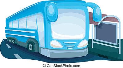στάση λεωφορείου