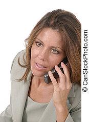 στέλεχος , cellphone , γυναίκα , 4 , επιχείρηση