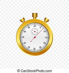 σταματώ , stopwatch., μηχανικός , γριά , illustration., μικροβιοφορέας , watch., χρυσός