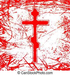 σταυρός , αιματώδης