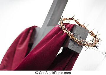 σταυρός , και , αποκορυφώνω