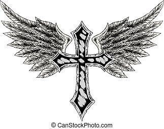 σταυρός , πτερύγιο