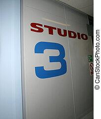 στούντιο , πόρτα