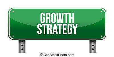 στρατηγική , ανάπτυξη , δρόμοs , εικόνα , σήμα