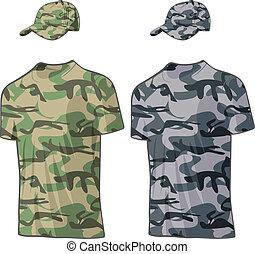 στρατιωτικός , μικροβιοφορέας , templates., πουκάμισο , καλύπτω