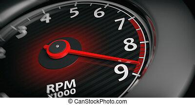 στροφόμετρο , απόδοση , 3d , αυτοκίνητο