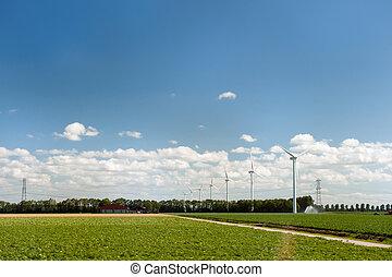 στρόβιλος , γεωργία , αέρας , τοπίο