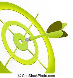 στόχος , πράσινο