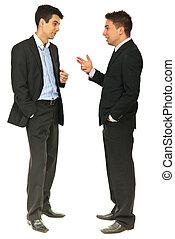 συζήτηση , μήκος , γεμάτος , αρμοδιότητα ανήρ