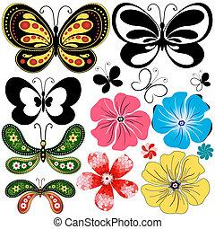 συλλογή , καινούργιος , ρέω , πεταλούδες