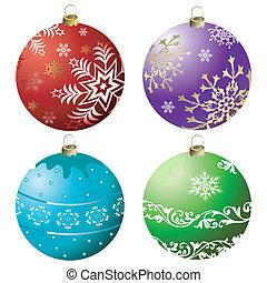 συλλογή , xριστούγεννα , (vector), καμπάνα