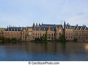 συμβία , βουλή , άντρο haag , ολλανδία