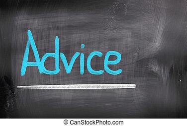 συμβουλή , γενική ιδέα