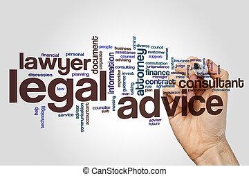 συμβουλή , λέξη , νόμιμος , σύνεφο