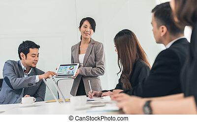 συνάντηση , αρμοδιότητα ακόλουθοι
