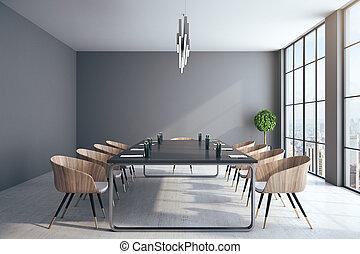 συνάντηση , σύγχρονος , δωμάτιο , εσωτερικός