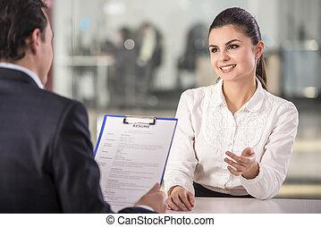 συνέντευξη
