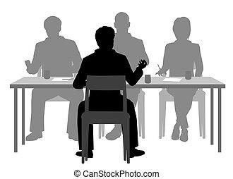 συνέντευξη , κατάλογος ένορκων