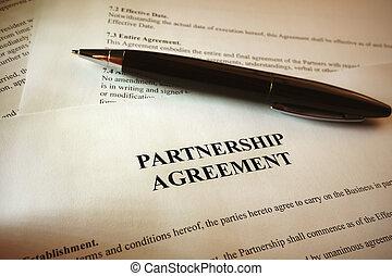συνεταιρισμόs , συμφωνία