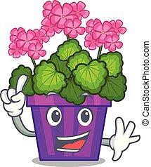 σχήμα , λουλούδια , γεράνι , γελοιογραφία , δάκτυλο