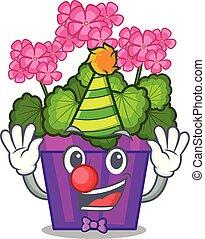 σχήμα , λουλούδια , γεράνι , γελωτοποιός , γελοιογραφία