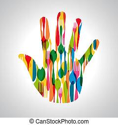 σχήμα , μαχαιρικά είδη , εικόνα , χέρι