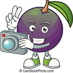 σχήμα , χαρακτήρας , αστέρι , φωτογράφος , μήλο , mascot.,...