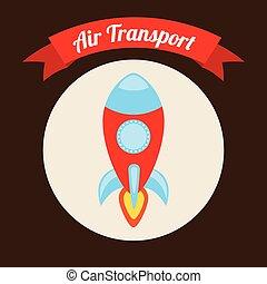 σχεδιάζω , μεταφορά , αέραs