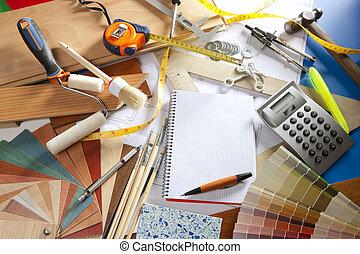 σχεδιαστής , ανέρχομαι καρνέ σημειώσεων , αρχιτέκτονας , χώρος εργασίας , γραφείο